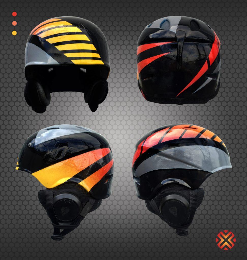 Custom Ski Helmet