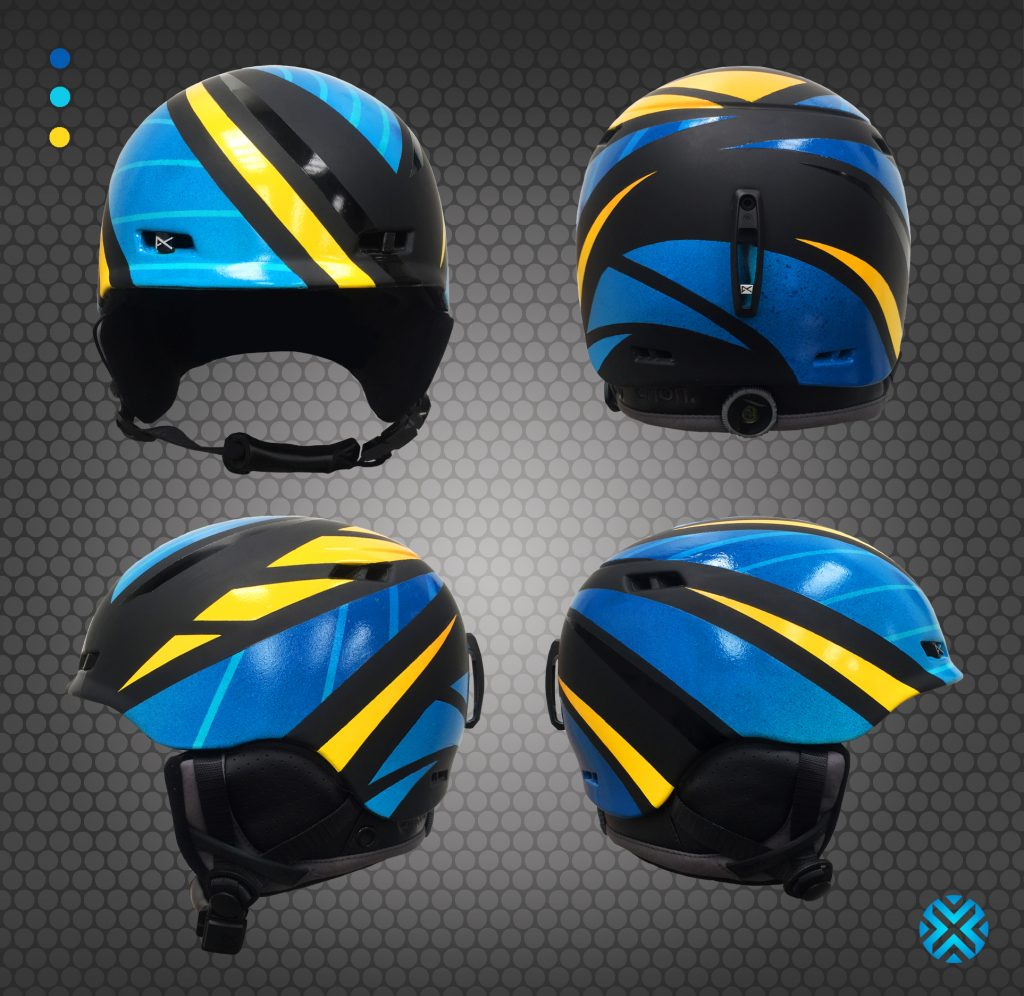 Custon Ski Helmet