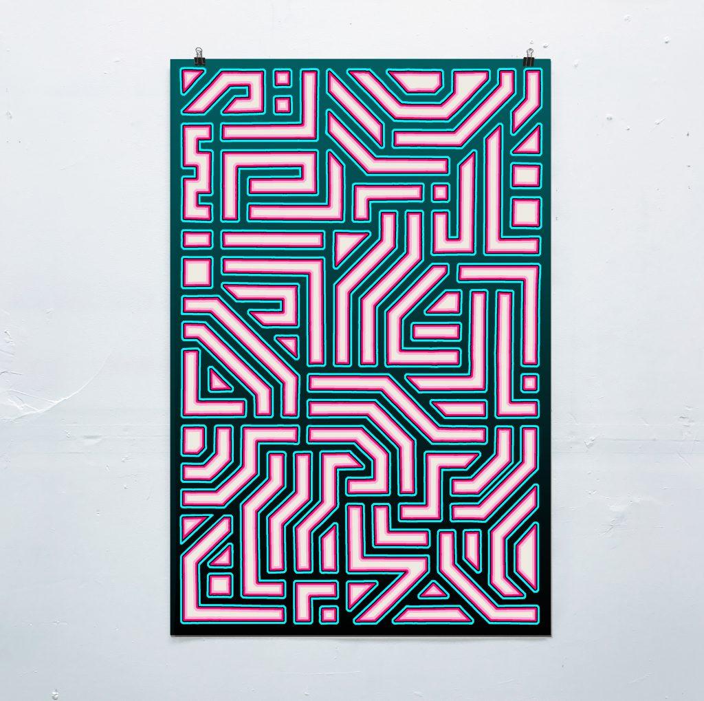 Hyperglyph Poster