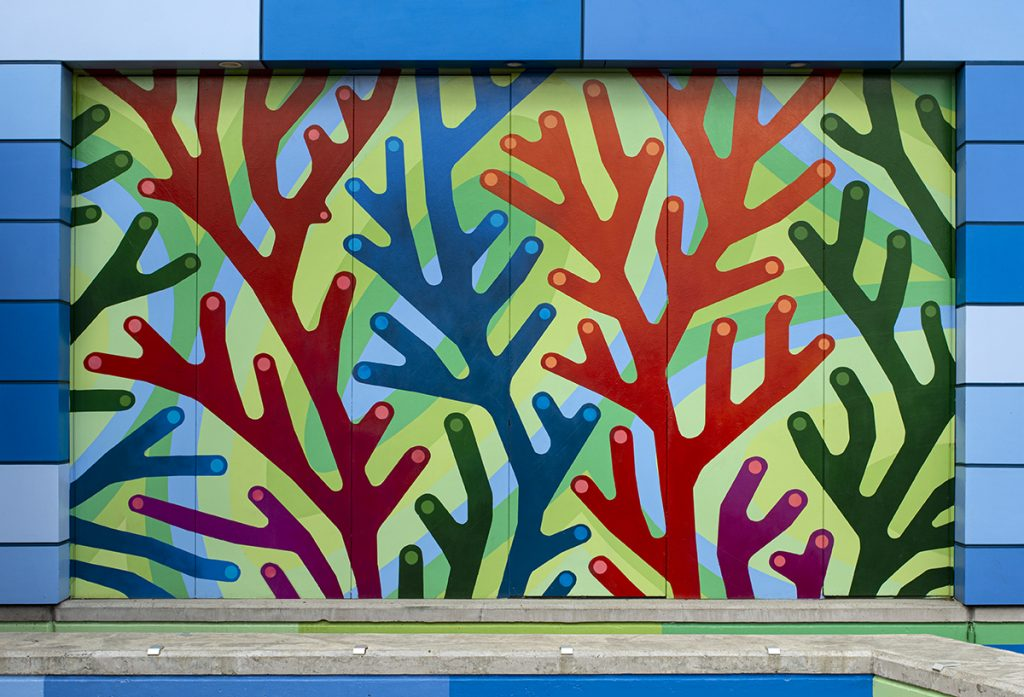 Kids Unlimited Plant Forms Mural